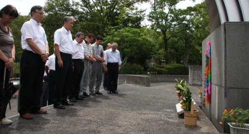 終戦記念日 黙祷