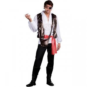 ハロウィンの海賊の衣装