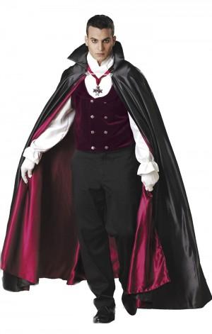 ハロウィンのドラキュラの衣装