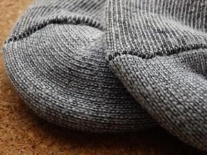 スノーボードの靴下は分厚い