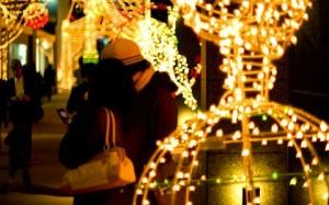 クリスマスのロマンチックなデート