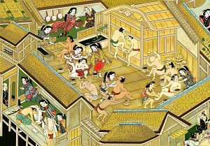 江戸時代からの温泉文化
