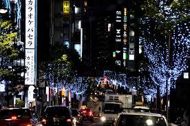 歌舞伎町区役所通りのイルミネーション