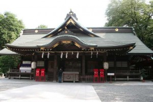 大國魂神社で初詣