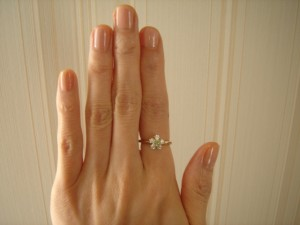 左手の人差し指につける指の意味