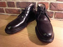 ブーツ丈の靴