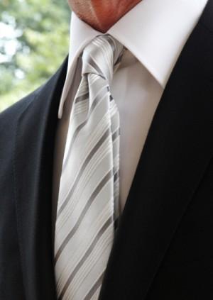 結婚式のネクタイ