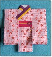 七夕飾りの紙衣