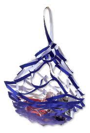 七夕飾りの屑籠