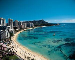 お盆はハワイに旅行