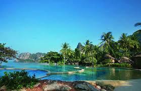 タイのクラビ島に旅行