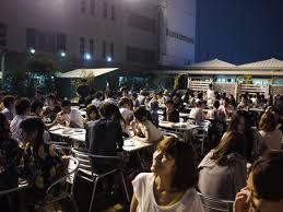 渋谷の東急のビアガーデン