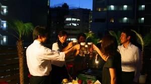 FURACHI恵比寿のビアガーデン