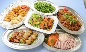 京王アサヒスカイビアガーデンの料理