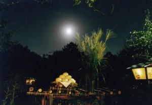 イメージするお月見の準備