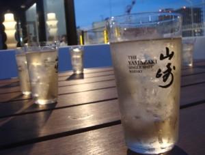 den rokuen-teiの山崎ハイボール