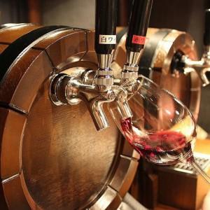 横浜そごうの樽生ワイン