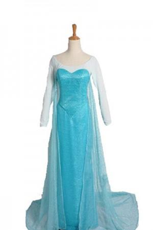 アナと雪の女王のエルサのドレス
