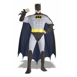 ハロウィンでの旧作版バットマンのコスプレ