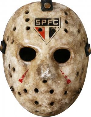 ハロウィンでジェイソンのマスク
