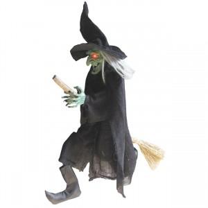 ハロウィンで有名な魔女のイメージ