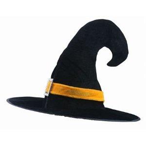 ハロウィンの魔女の帽子