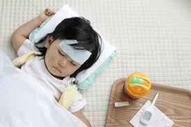 子供が風邪をひいた時のお風呂