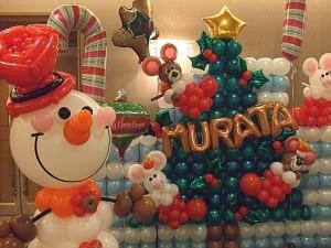クリスマスパーティーを企画