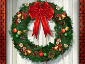 クリスマスのリースの意味