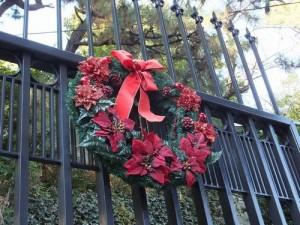 クリスマスのリースについての意味