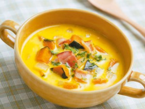 風邪の時のかぼちゃスープ