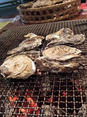 牡蠣を焼いてノロウイルス対策