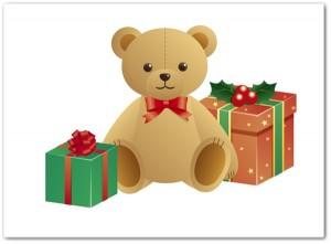 幼稚園の女の子へのクリスマスプレゼント