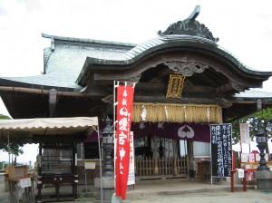 福岡の愛宕神社に初詣
