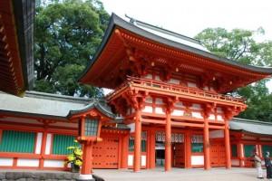 氷川神社への初詣