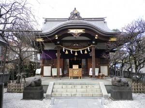 北野神社への初詣