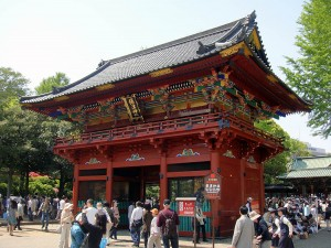 根津神社への初詣