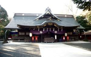 大國魂神社への初詣