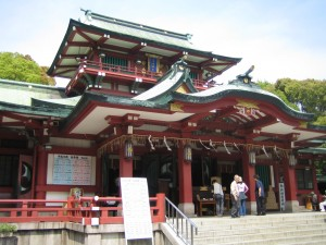 富岡八幡宮への初詣