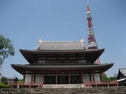 増上寺への初詣