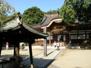 2015年の深大寺への初詣
