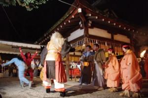 節分に吉田神社