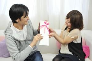 バレンタインに彼氏へプレゼント